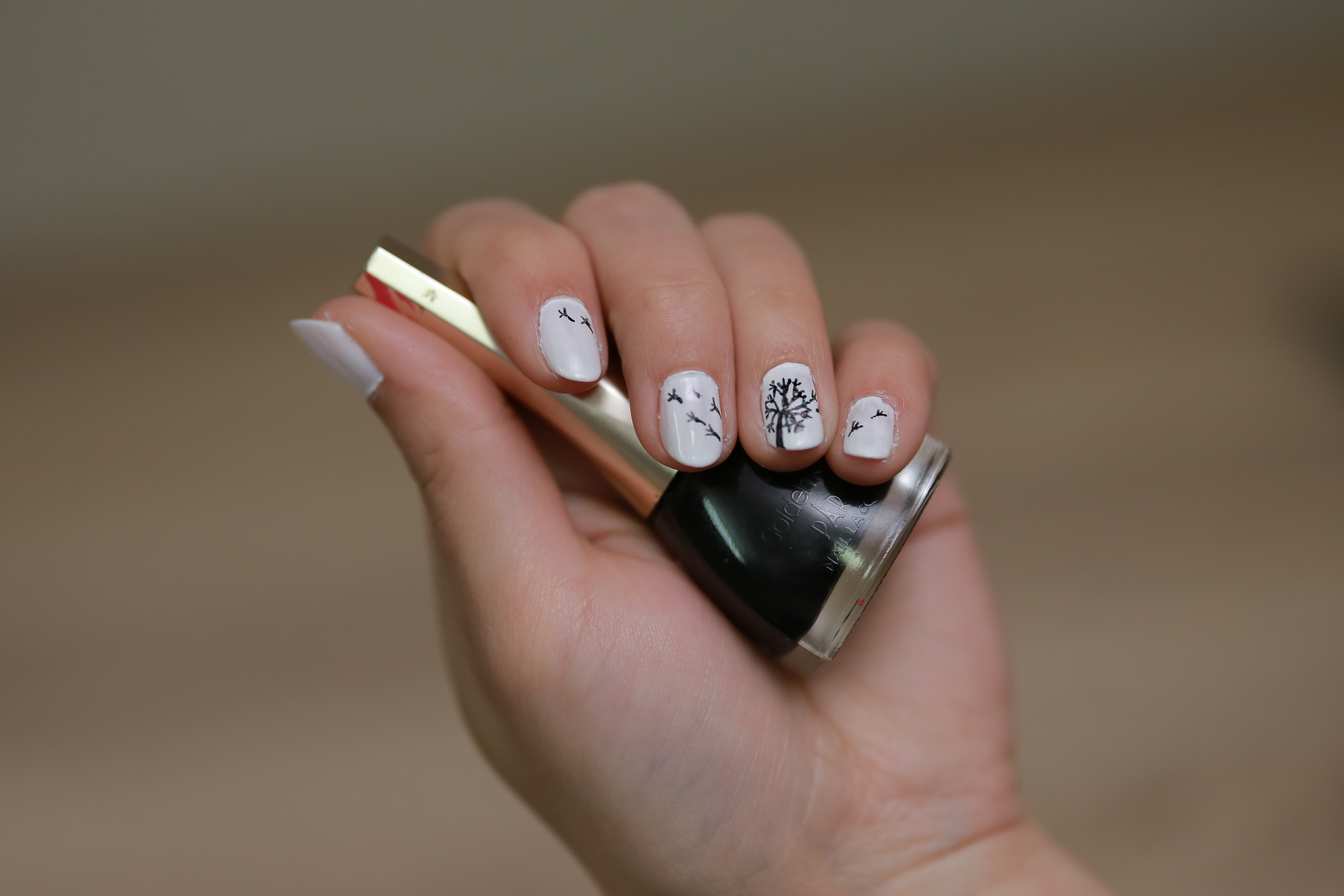 Step by step nail design for this summer - a Girl Stuff